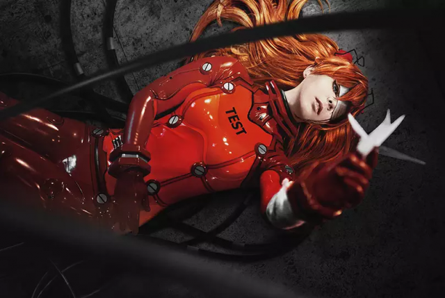 Asuka Langley, Evangelion, Anime Cosplay